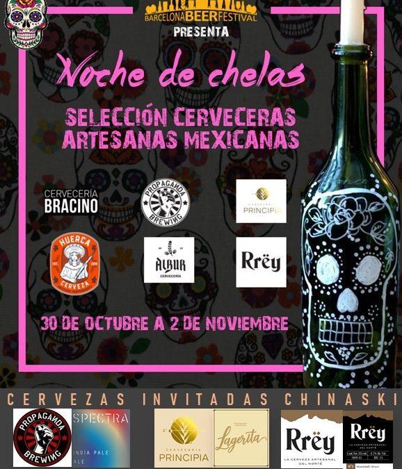 Chela mexicana en Madrid. 30 Octubre