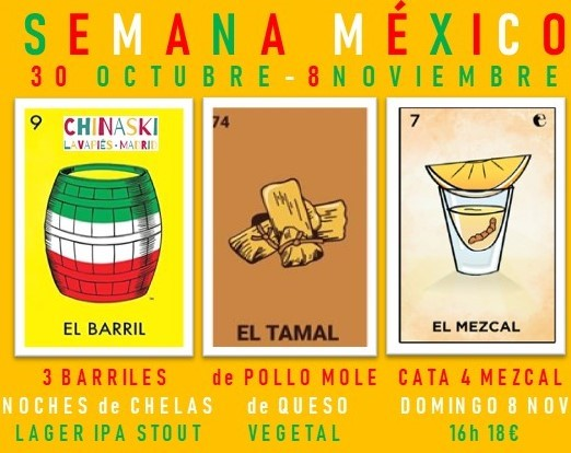 Semana México Chinaski