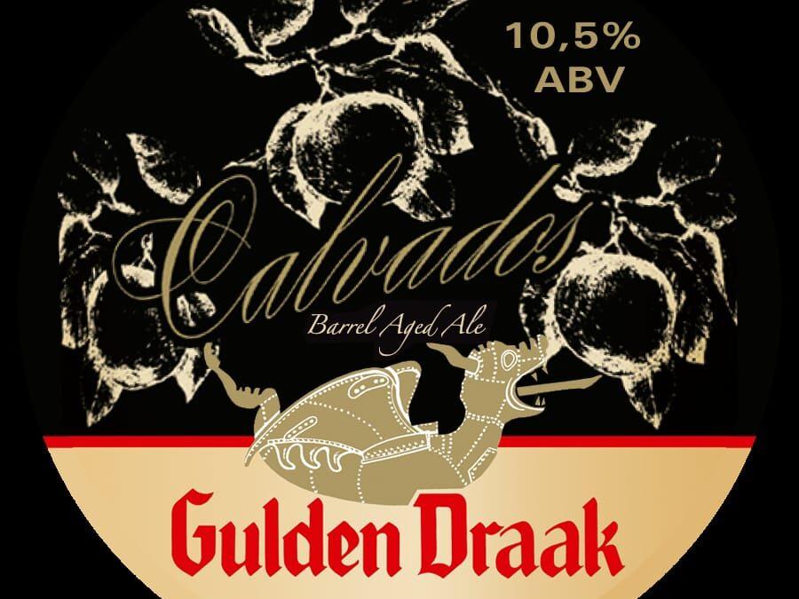 Gulden draak 9000 añejada en barrica de Calvados. Grifo 14.