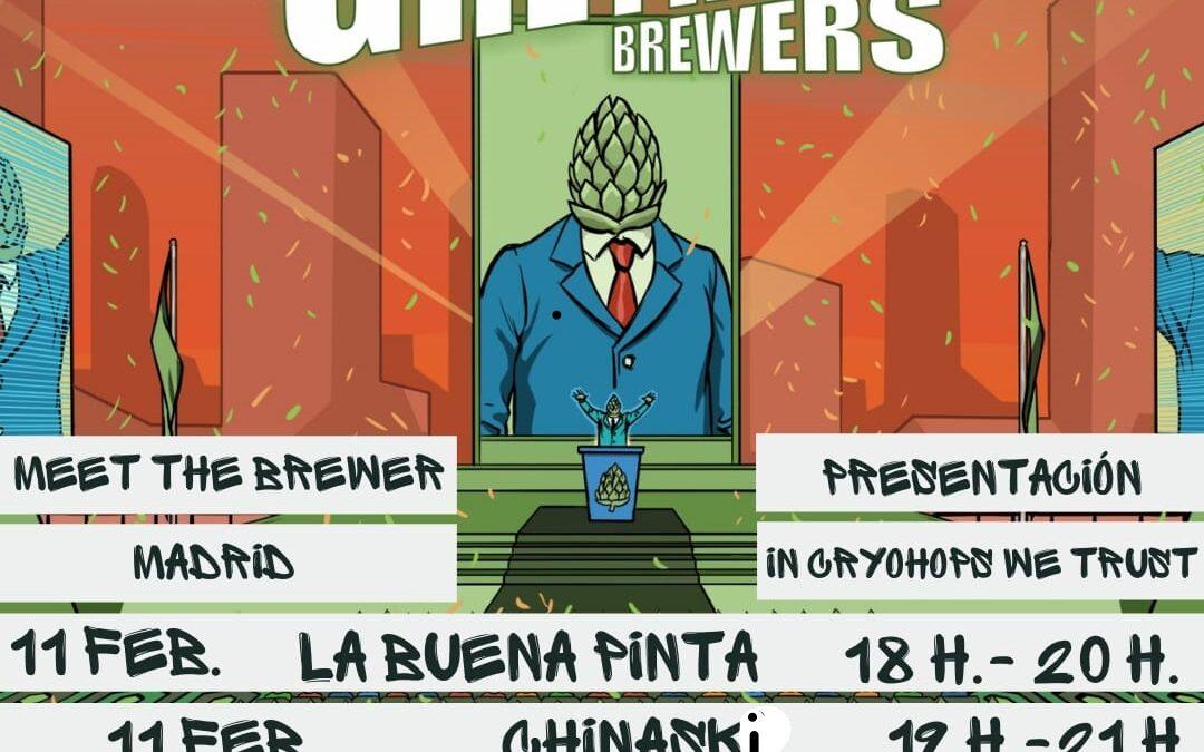 GREYHOUND Brewers desde La Roda. Jueves 11 Febrero